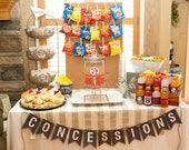 Concessions Printable Banner INSTANT DOWNLOAD by Beth Kruse Custom Creations