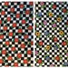 Fabric7/8 yards Mary Engelbreit Fried Eggs Checker Board Black White OOP Rare Lot 100%Cotton Eustheelf  95