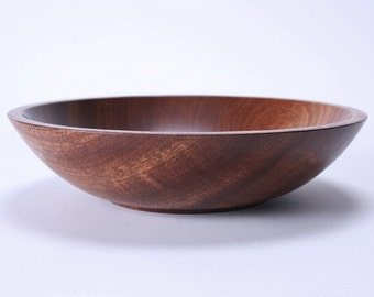 Ribbon Sapele Wooden Bowl 1454
