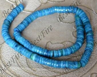 Single 8mm haixi Azurite Chrysocolla Jasper,Reconstituted Chrysocolla loose beads,blue green jasper Full Strand 15inch