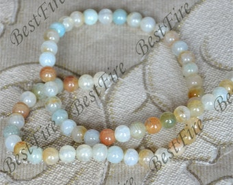 22.5inch Single 6mm Round Agate Beads ,agate stone beads loose strands,agate beads findings