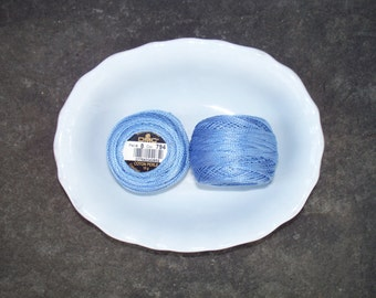 DMC Perle Cotton 8 Blues