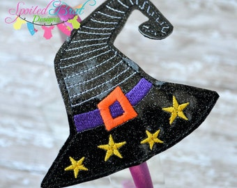 Witch Hat Headband, Girls or Toddler Girls, Perfect for Halloween,  Made to Order