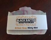 Black Rafter SoapWorks Minty Mint Artisan Soap