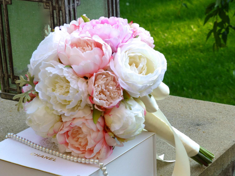 zoom garden rose bouquet - Garden Rose And Peony