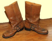 Vintage Harness BOHO Boots Size 7 D Mens / Womans Size 8