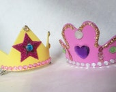 Make-Your-Own Tiara Kit - girls' birthday parties souvenirs makes 5 tiaras DIY