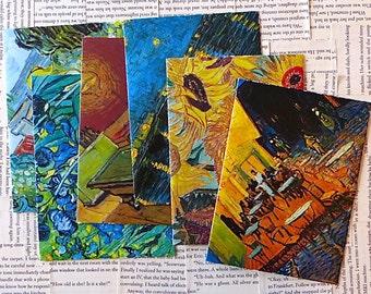assorted Van Gogh 2 envelope set