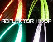 ThE ReFLeKtOr HoOp // Polypro Hula Hoop with High Intensity Reflective Tape // Custom Color, Tubing, & Diameter!