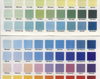REFERENCE OPAQUE CHART - For reference only - Do Not Purchase!