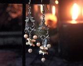 Serpentine Masquerade Earrings