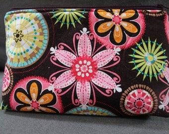 Michael Miller Print Make-up Cosmetic Bag