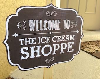 Ice Cream Birthday Party - Ice Cream Party Decoration - Ice Cream Party - Ice Cream Party