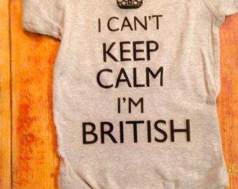 British Onesie®~Brexit~Britain Onesie®~England Onesie®~English Onesie®~Britsish Baby~Britain Baby~I cant keep calm I'm British~England