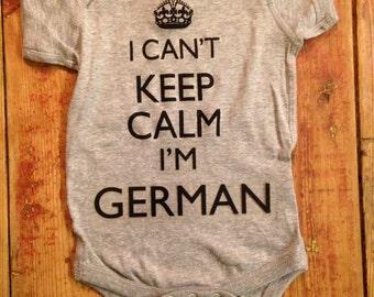 German Onesie®~German Baby Onesie®~Germany Onesie®~Germany Baby suit~German Baby Shower Gift~Germany Shirt~German Shirt~German Baby Gift