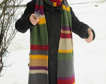 Doctor who scarf Etsy