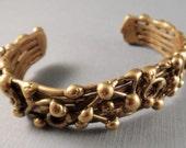 Vintage Pal Kepenyes Brass Cuff Bracelet