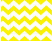 Yellow Chevron Fabric, Baby Fabric, Kids Fabric, Green/White Apparel/Quilt Fabric, Baby/Nursery Yardage, Home Decor/Diy Craft Supplies