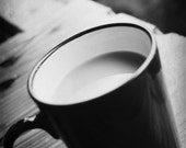 Chinese Tea // 5x7 Coffee Print // Black & White Photography