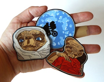 Stickers // E.T. the Extra-Terrestrial