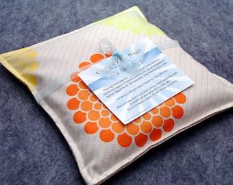 Heating Pad Microwave Corn Bag -- Sunburst, hand warmer 9x9
