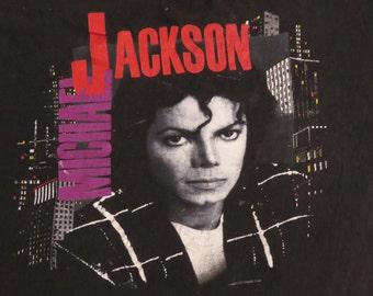 MICHAEL JACKSON 1988 tour T SHIRT