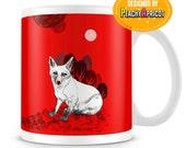 Lonely Red Fox mug