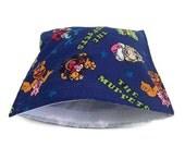 Muppets reusable snack bag, reusable sandwich bag