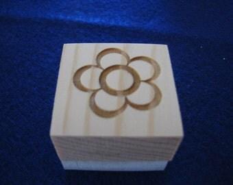 Flower Soap Stamp
