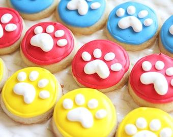5 dozen Paw Print Cookie Nibbles
