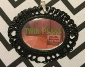 Twin Peaks Opening Credits Cameo Necklace