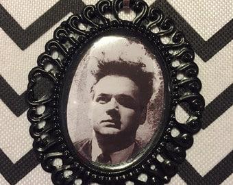 Eraserhead Cameo Necklace