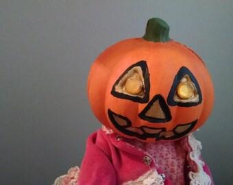 Jacqueline the pumpkin girl