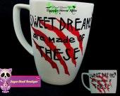 Freddy Krueger Inspired Mug