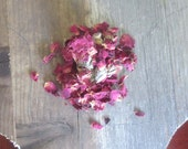 Dried Rose petals + buds - Wiccan herbs love spell witchcraft pagan herb magick purification occult supplies altar tools magic