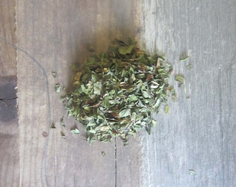 Peppermint - Witchcraft herbs dried peppermint leaf wiccan supplies pagan herb magick purification occult supplies altar tools magic