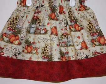 Clearance Fall Time Skirt  Size 2 to 8