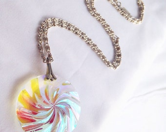 Sweet Tooth Candy Glass Germany Necklace