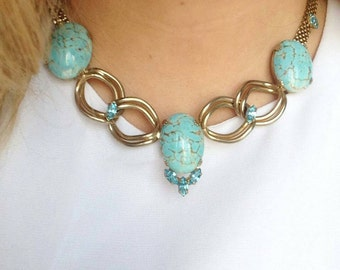 Denbe' Necklace and Earring Demi