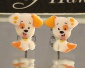 Bubble Guppies bubble puppy Stud Earrings - surgical steel