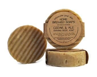 Beer Soap - Best Shaving Soap for Men - Shaving Soap - Mens Shave Soap - Shave Soap - Natural Shaving Soap - Natural Shaving - Mens Soap