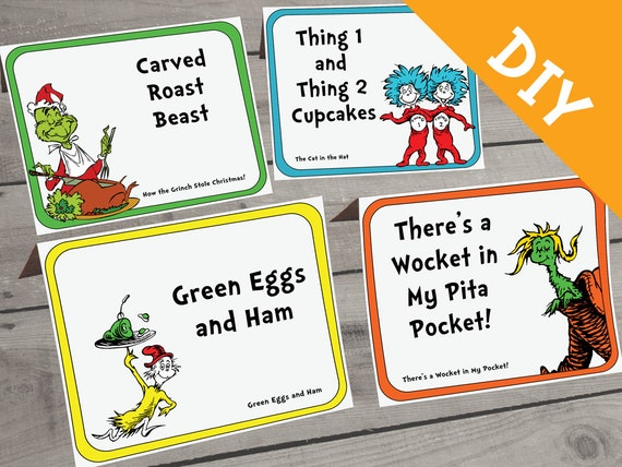 Welcome Back With Dr Seuss | just b.CAUSE