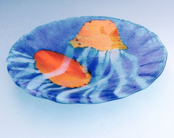 Jelly Fish Glass Bowl