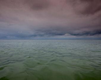 """Weatherproof Aluminum Tranquil Water Art """"Uncertainty"""""""