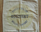 Large OCCIDENT FLOUR BAG Russell-Miller Milling Company Minnesota Old Advertising