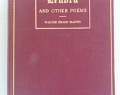 Lenora And Other Poems By Walter Drake Martin Hardbound FIRST EDITION 1909 NICE