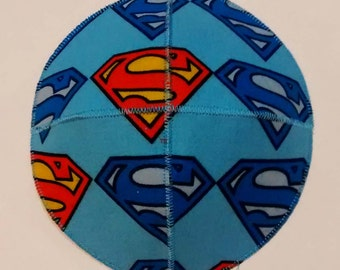 Superman Emblem Saucer Kippah Yarmulke Superhero