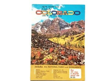 Colorado Deluxe Picture Book and Senic Picture Guide Circa 1959