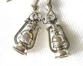 Antiqued Silver Style Metal Camping Outdoors Lantern Charms Pendants destash collection SALE USA