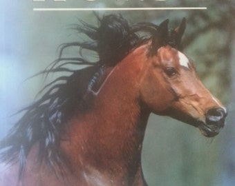Vintage Books, Vintage Item, Used Books, Rare Book, Coffee Table Book, The Kingdom of the Horse by Elwyn Hartley Edwards